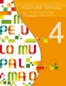 Cuarto libro de la serie Escribo Letras y Números