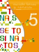 Quinto libro de la serie Escribo Letras y Números