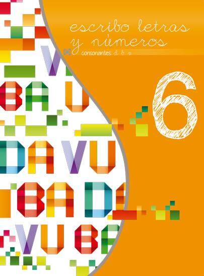 Sexto libro de la serie Escribo Letras y Números