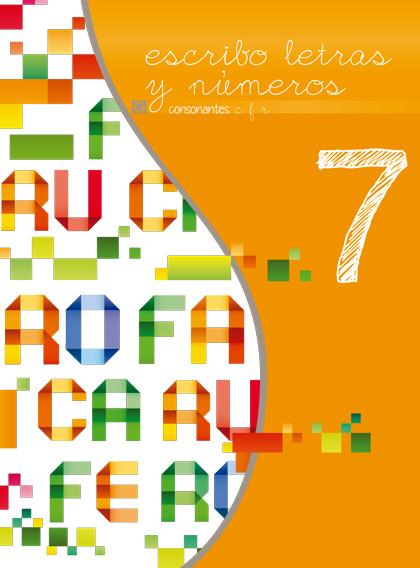 Séptimo libro de la serie Escribo Letras y Números