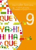 Noveno libro de la serie Escribo Letras y Números