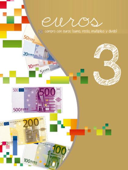 Tercer libro de la serie Euros Oro. Nivel 3