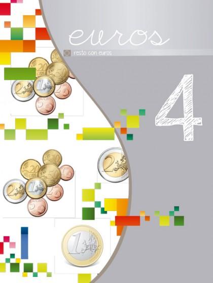 Cuarto libro de la serie Euros Plata. Nivel 4