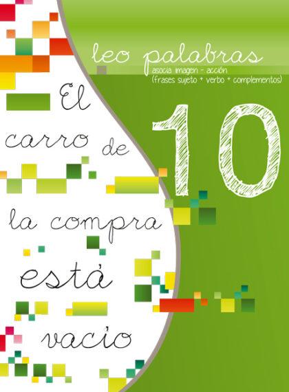 Décimo libro de la serie Leo Palabras, para alumnos con N.E.E.
